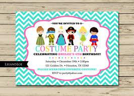 costume party invites costume birthday party invitation princess ninja by leeandloe