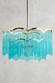 turquoise chandelier lighting. Turquoise Arched Waterfall Chandelier Lighting V
