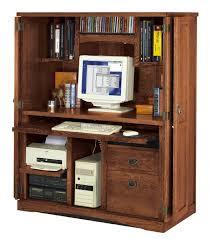 hidden desk furniture. Oak Hidden Office Computer Armoire Desk Furniture T