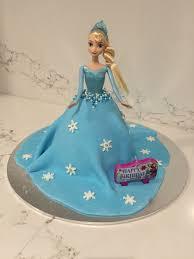Designer Cake Tins Elsa Cake Using Fondant And Dolly Varden Tin Dolly Varden