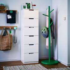hallway furniture ikea. need hallway inspiration check out this modern playful that builds up with a high white chest of drawers and green hatcoat stand to keep furniture ikea