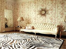 zebra rug animal skin rug decoration brown and white zebra rug animal print wool rugs