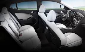 kia optima 2014 white interior. 2014 kia optima hybrid a spacious cabin with distinction seats are available in white interior