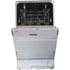 Slimline Kitchen Appliances Buy John Lewis Jlbidw902 Integrated Slimline Dishwasher White