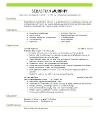 aircraft maintenance technician resume aircraft mechanic resume sample aircraft mechanic resume aircraft