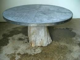 round zinc table top cypress root zinc top table cypress round zinc 60 round zinc table