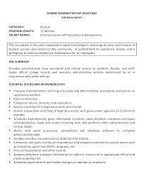 Office Assistant Resume Sample Stunning Resume For Administrative Job Medical Office Assistant Duties Resume