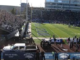 Nevada Wolfpack Football Stadium Seating Chart Nevada Wolf Pack Vs Brigham Young Cougars Mackay Stadium