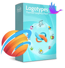business logo templates vector graphics in a pack from graphicmama