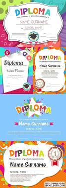 diplom Портал графики и дизайна векторный и растровый клипарт  Векторные дипломы с ярким привлекательным дизайном diploma vector