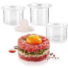 <b>Формочки для придания блюдам</b> формы – кольца 3 шт, Presto ...