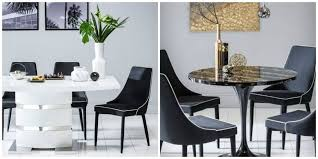 furniture choice. art deco mila table, modena chairs and komoro table from furniture choice s