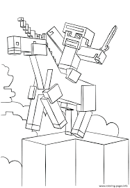 Minecraft Coloring Pages To Print Coloring Pages Free Printable