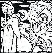 St Francis Coloring Page At Getdrawingscom Free For Personal Use
