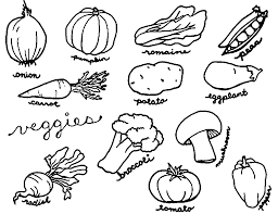 That's why in this section we have collected coloring pictures of the most known vegetables. Vegetable Coloring Pages Best Coloring Pages For Kids