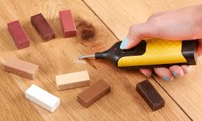 Work Expert Laminate And Hardwood Floor Repair Kit