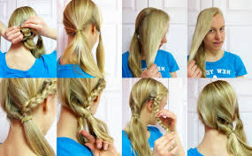 fast easy hairstyles for long hair easy hairstyles for long hair to do
