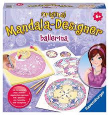 Ravensburger Deco Mandala Designer Drawing Machine Buy Ravensburger 2 In 1 Mandala Designer Ballerina Online At