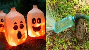 20 Diy Creative Ideas To Reuse Plastic Bottles - YouTube
