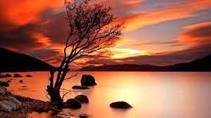 Landscape Nature Wallpaper Sunset