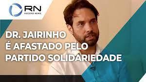 Dr. Jairinho é afastado pelo partido Solidariedade - YouTube