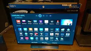 For Sale Samsung UE55HU7500 4K Ultra HD 3D Smart TV, 55\ -