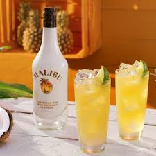 Malibu is the most widely known coconut rum on the market and can be found behind most bars in the country. Malibu Pina Colada Recipe Absolut Drinks