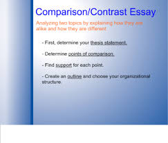 smart exchange usa writing a comparison contrast essay in  writing a comparison contrast essay in 4 easy steps