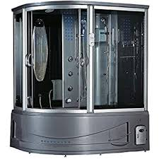 siena steam shower sauna with jetted jacuzzi whirlpool