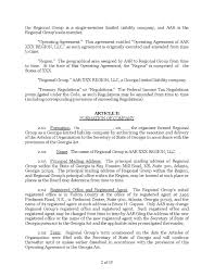Download Amendment To Llc Operating Agreement Style 12 Template For ...