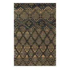 kasbah charcoal 4 ft x 6 ft area rug