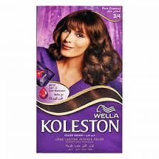 Koleston Foam Hair Color Chart Buy Wella Koleston Color Intense Foam Dark Chestnut 3 4 At