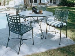 modern iron patio furniture. Patio Ideas: Rod Iron Furniture With Stripes Pattern Of Pertaining To Modern Wrought