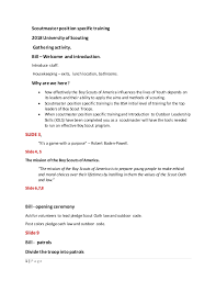 Guide To Safe Scouting Chart Notes For Sm Specific 2018 3 5