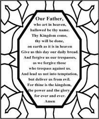 Best Of Free Printable Lord S Prayer Coloring Pages Pictures Kids