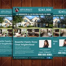 featured listing property design template real estate lead generator open house flyer cr3 2