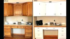 painted oak cabinets before and after painting oak trim white painting oak trim white before and painted oak cabinets