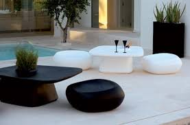 captivating white modern outdoor furniture 25 modern outdoor furniture sets that brighten up backyard ideas