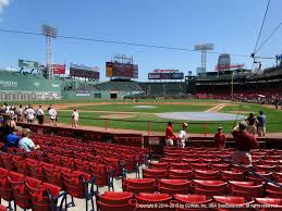 Fenway Park Concert Seating Chart Billy Joel Fenway Park View From Dugout Box 50 Vivid Seats