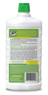 lime out heavy duty rust limescale calcium stain remover package back sku ao24b