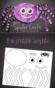Free Craft Printables Templates Printable Spider Craft Learncreatelove
