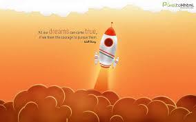 Dreams Inspirational Quotes Desktop Wallpaper