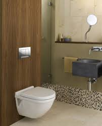 cloakroom back to wall W:c Toilet & wall hunging Basin