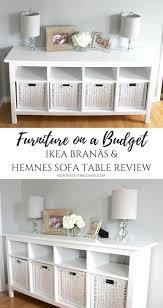 ikea furniture design ideas. IKEA BRANÄS AND HEMNES SOFA TABLE | Furniture On A Budget Farmhouse, White, Chic, Glam, Rustic Home Decor \u0026 Design Ideas Ikea