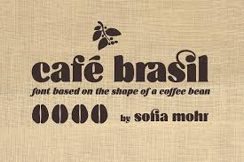Enter you text or numbers into a panel below. Cafe Brasil Family Stunning Display Fonts Creative Market