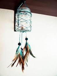 Dream Catcher Jar ORDER ITEM Glass Dream Catcher Blue Sunset Dream Catcher 12
