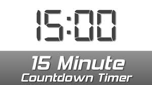 Timer For 15 Min 15 Min Simple White Digital Clock Countdown Timer With Ending Bell