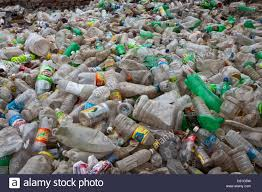 Plastic Bottle Recycling Delhi India Plastic Bottles Collected As Scrap Waste Ready For