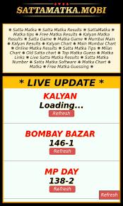 Mumbai Game Chart 25 Rational Satta Panel Chart