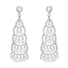 antique gold chandelier earrings collection cascading drop diamond chandelier earrings earrings in spanish puerto rico